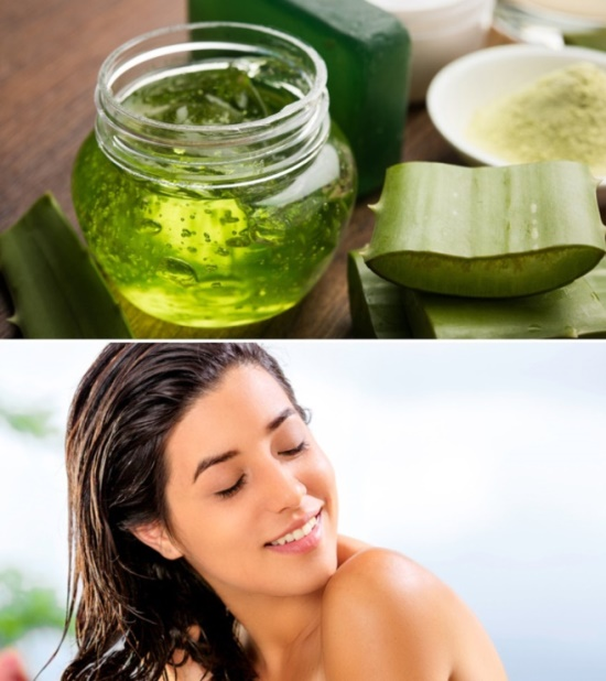 Give Aloe Vera Touch to Your Hair
